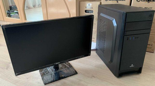 Компьютер в сборе i5 9400f/8GB/gtx 1050ti 4GB/ssd 240GB/19.5