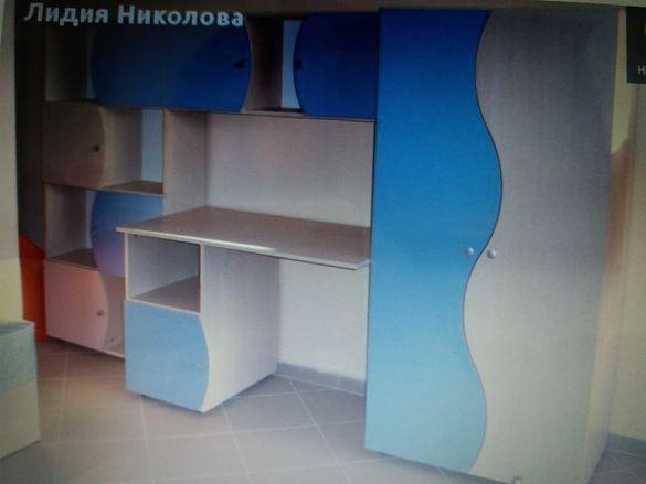 Сеция и легло за детска стая