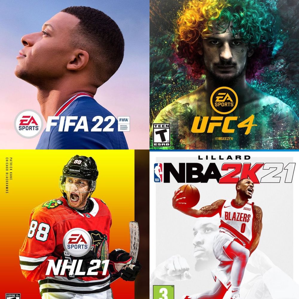 Продам Лицензионные Цифровые Игры на Sony Playstation 4. Fifa22 Ufc4