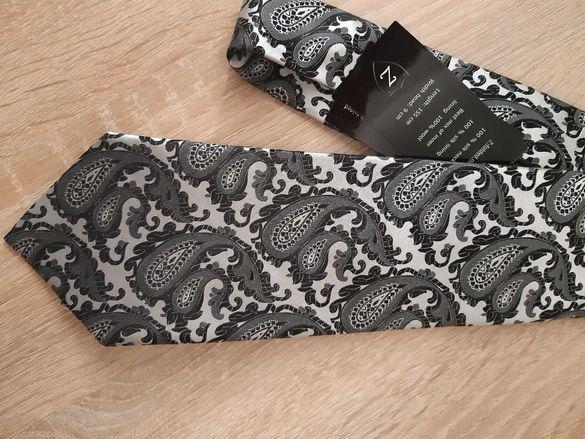 Нова 100% silk- коприна вратовръзка