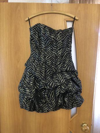 Отдам даром платье-мини б/у