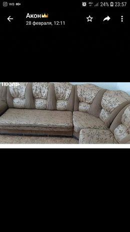 Угловой диван срочно сатылады
