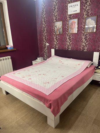 Продам кровать и комод в современном стиле !СРОЧНО
