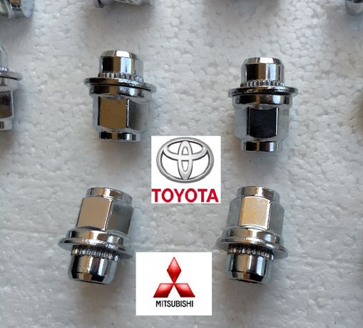 Piulite Toyota, Mitsubishi cu saiba plata M12 x 1,5