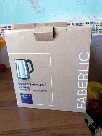 Чайник faberlic электрический стальной новый