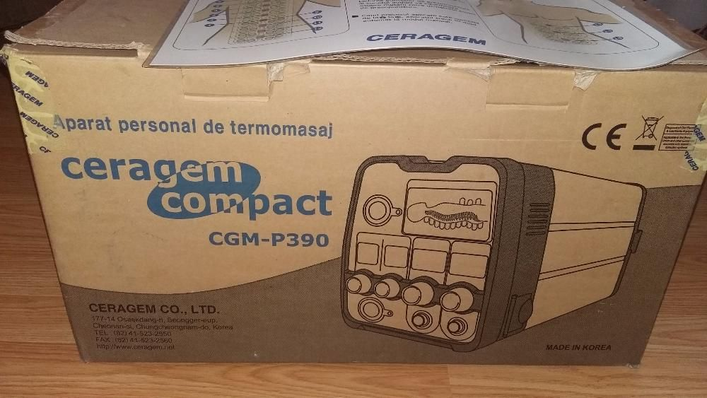 Ceragem Compact CGM P390 Urziceni - imagine 1