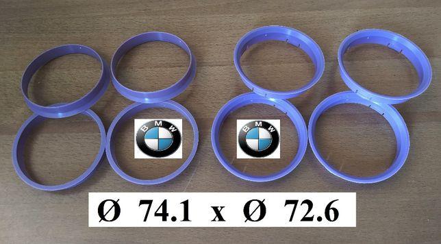 Inele de centrare BMW Originale 74,1 x 72,6 Made in Germany