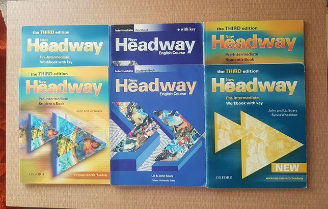 Учебники англ Headway Solutions English file