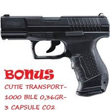 Pistol airsoft Walther DAO P99-4J+toc sold+10CO2+1000B 0,40gr