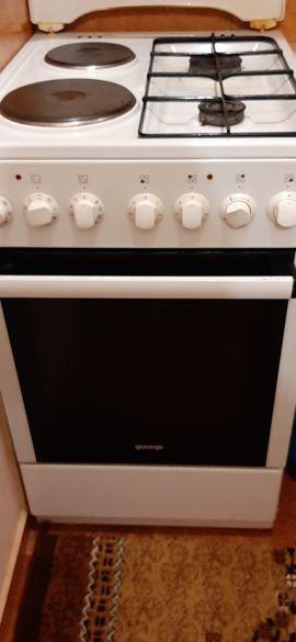 Печка горение газ