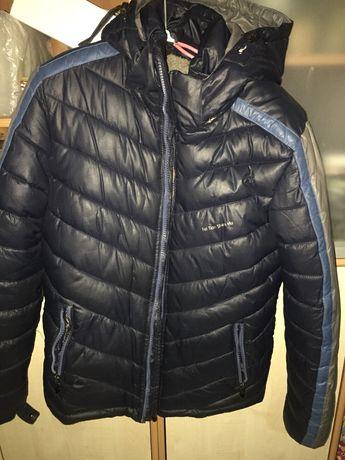 Зимняя куртка на мальчика 11-13 лет
