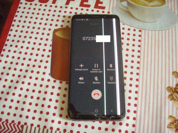 Samsung Galaxy S9 SM-G960F, placa buna (display + spate sparte)