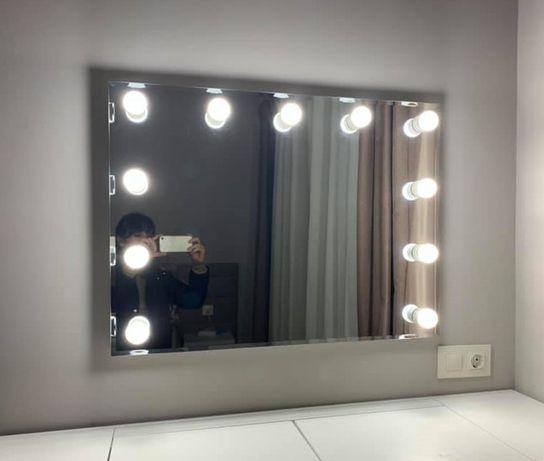 """Огледало с вградено осветление за грим""""Shine"""""""
