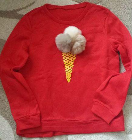 Блуза със сладолед, блуза, тениска, Коледен пуловер
