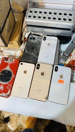 AZGSM, Schimbare Capac Spate(sticla) Laser Iphone 8/8+/X/Xs/XR, etc.
