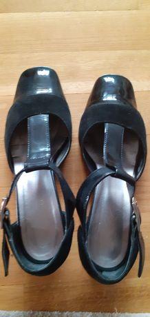 Pantofi piele toc mic mas.38