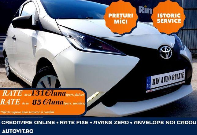 Toyota Aygo 2016/EURO 6/ Tva/Istoric service/Rate fixe avans 0/Leasing