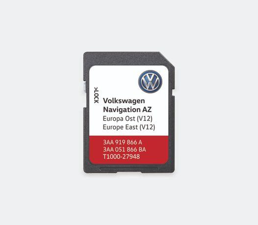 Card navigatie Volkswagen RNS 315 Europa Est Romania V12 2020