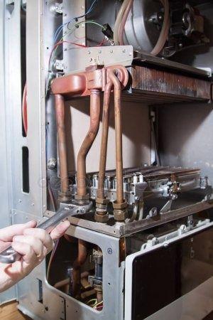 Ремонт газовых котлов, печей.
