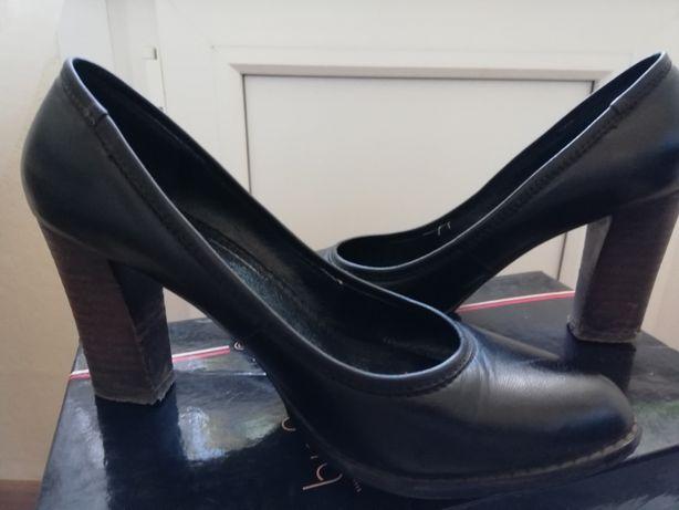 Туфли кожаные размер 38