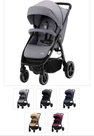 Чисто нова!!BritaxB-AGILE 4 M бебешка количка