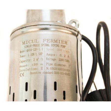 Pompa submersibila Micul Fermier QGD 3.0, 1100 W, 50 l/min