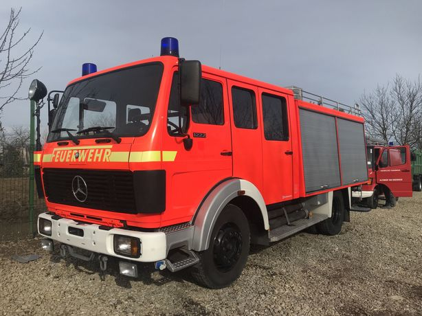 Mercedes benz - PSI-Masina de pompieri-autospeciala Pompieri