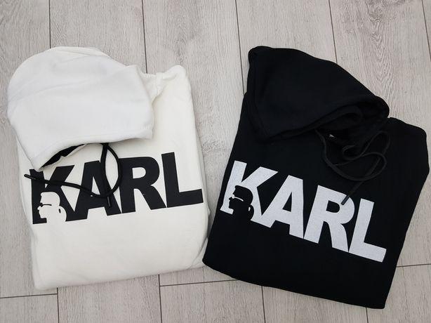 Hanorac Karl Lagerfeld alb sau negru