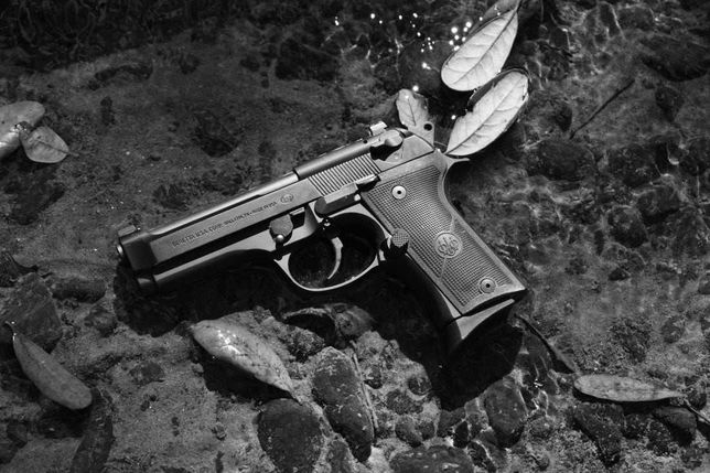 Pistol BERETTA V.2 Cu Kit De Modificare RAZOR! (Airsoft) - Model Co2