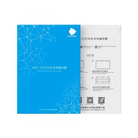 ANYCUBIC UV RESIN Смола и FEP film фолио SLA LCD DLP 3D printer