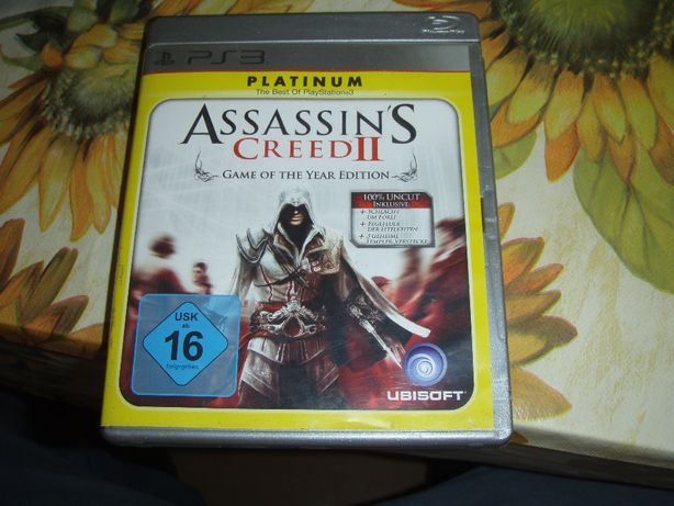 Assassin´s Creed II - Game of the year Edition (Platinum Edition) PS3