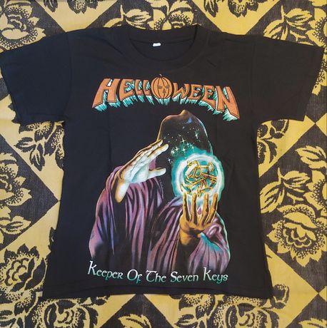 Метъл тениски Metal t-shirt Helloween Iron Maiden Sepultura Harley