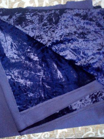Плат плюш(внос)- 2 парчета,2 цвята+Плат брокат-2 вида