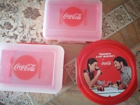 Нови кутии на Кока-Кола с подарък