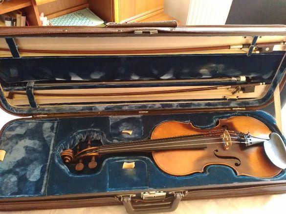 Цигулка с 2 лъка