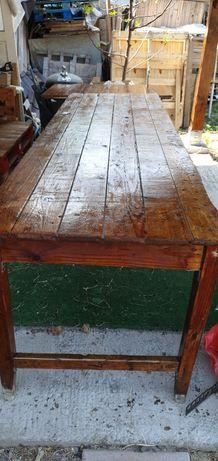 masa rustica pentru terasa