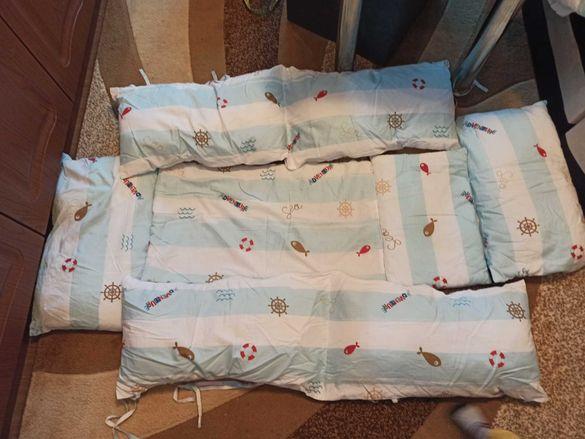 Спален комплект за кошара с размер 60/110