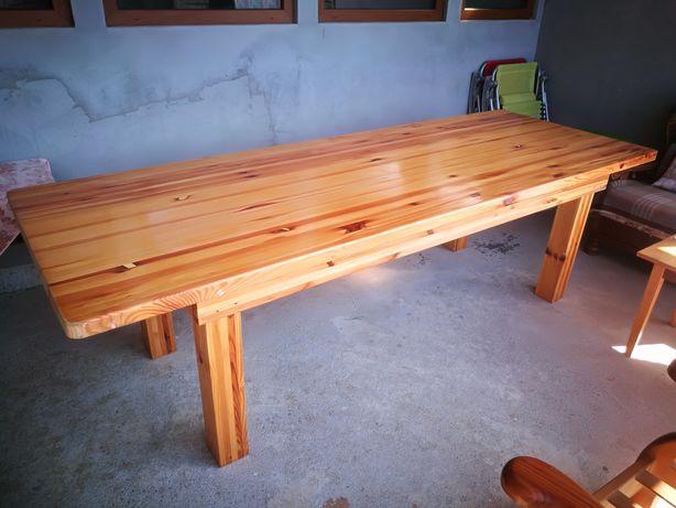 Masa lemn pentru terasa, gradina