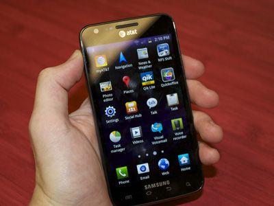 Samsung Galaxy S II Skyrocket i727 4g и Нокия 2 андроид