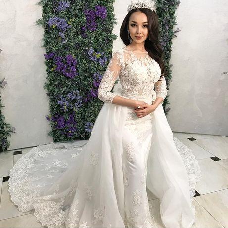 Счастливое Свадебное платье трансформер