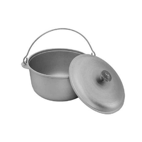 Ceaun aluminiu alimentar cu capac 30 L