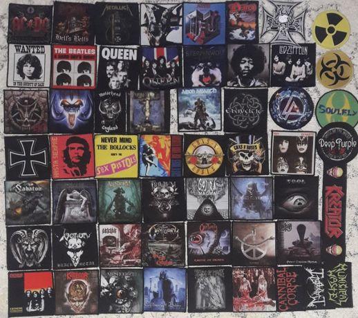 Patch Metallica,Rammstein,Slayer,Nirvana,Disturbed,Guns,Maiden,AC/DC