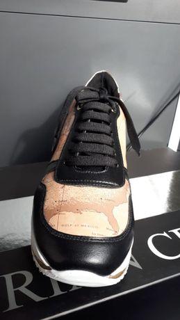 Pantofi sport din piele pentru femei