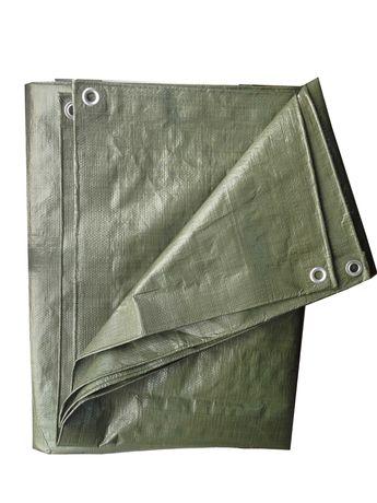 Prelata impermeabila, polietilena, verde, 100 g/mp - diferite marimi