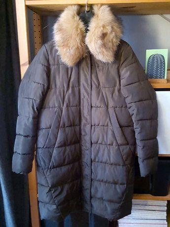 НАМАЛЕНО - Елегантно дамско пухено яке