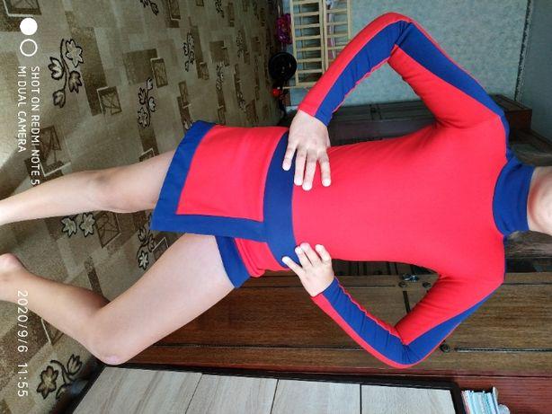 Платье для выступлений. Фигурное катание.