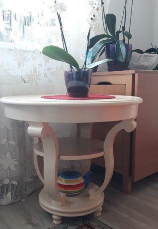 Masuta rotunda de ceai/cafea Art Deco reconditionata