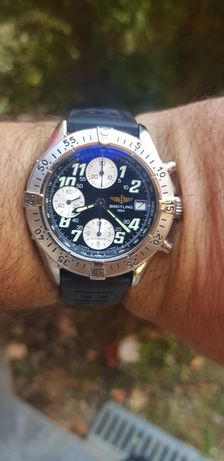 Breitling Colt Chronograph A13335, Tag Heuer,Omega