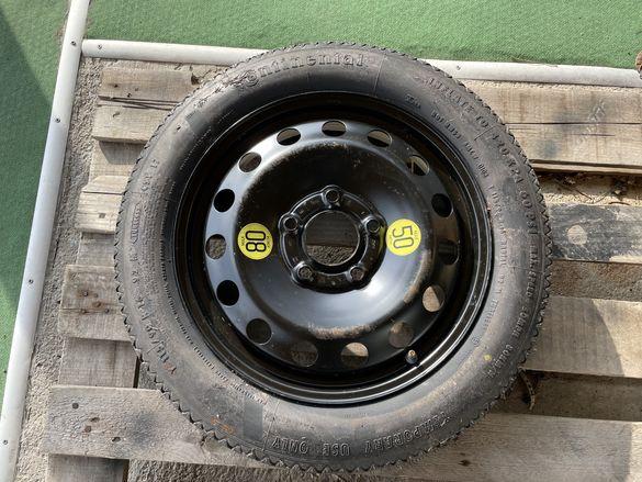 Резервна гума тип патерица 16 цола 5х120 за -BMW-