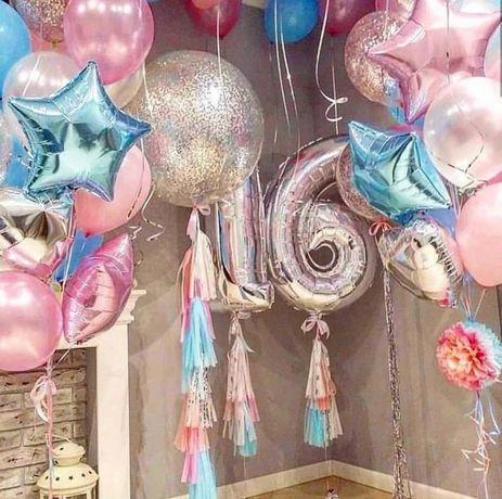 Шарики!Гелевые шары на день рождения,выписку,гендер пати,свадьбу!